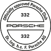 Officially approved Porsche Club 332